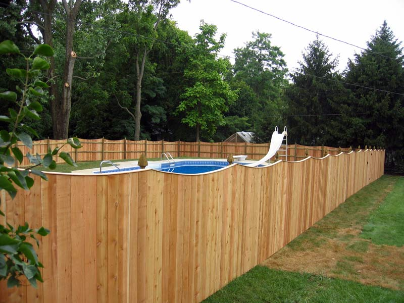 6 for Colonial fence designs