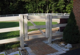 Ranch Rail with Gate